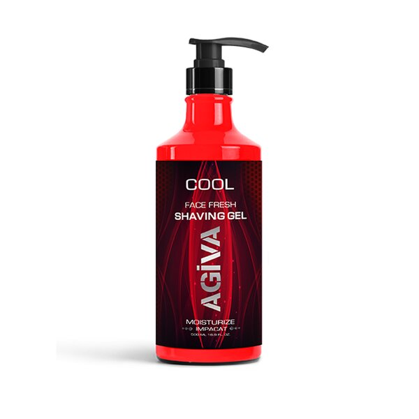 Agiva Shave Gel cool 400ml